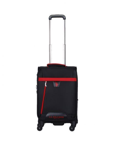 Us Polo Assn . Ön Bölmeli Kabin Boy Valiz PLVLZ9005C Siyah