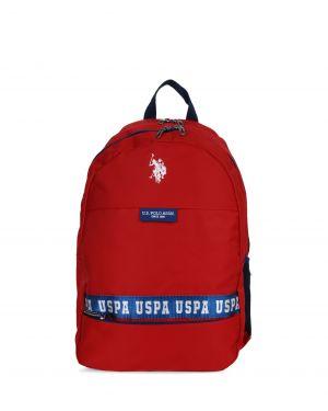 Us Polo Assn Beyaz Logolu Sırt Çantası PLÇAN9250