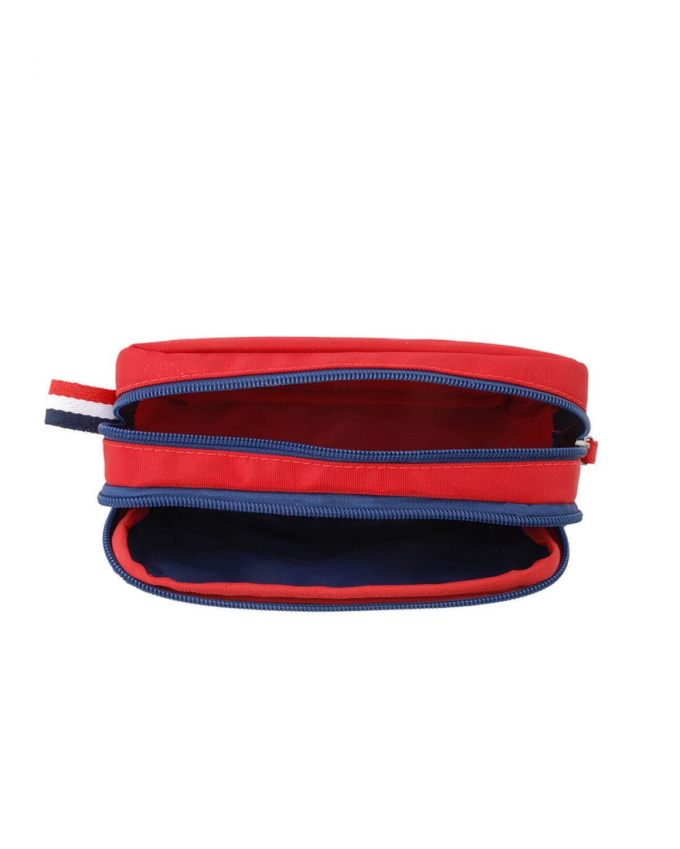 Us Polo Assn İki Bölmeli Kalemlik PLKLK8227 Kırmızı