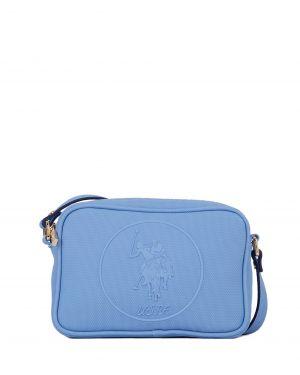 Us Polo Assn Kabartma Logolu Çapraz Kadın Çantası US19405 Buz Mavisi