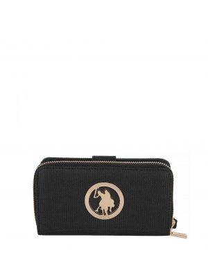 Us Polo Assn Kadın Cüzdanı USC18386 Siyah