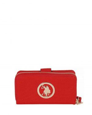 Us Polo Assn Kadın Cüzdanı USC18386 Kırmızı