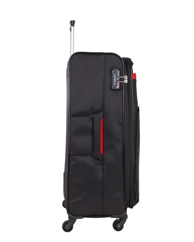 Us Polo Assn Kırmızı Armalı Büyük Boy Valiz PLVLZ6047A Renkli