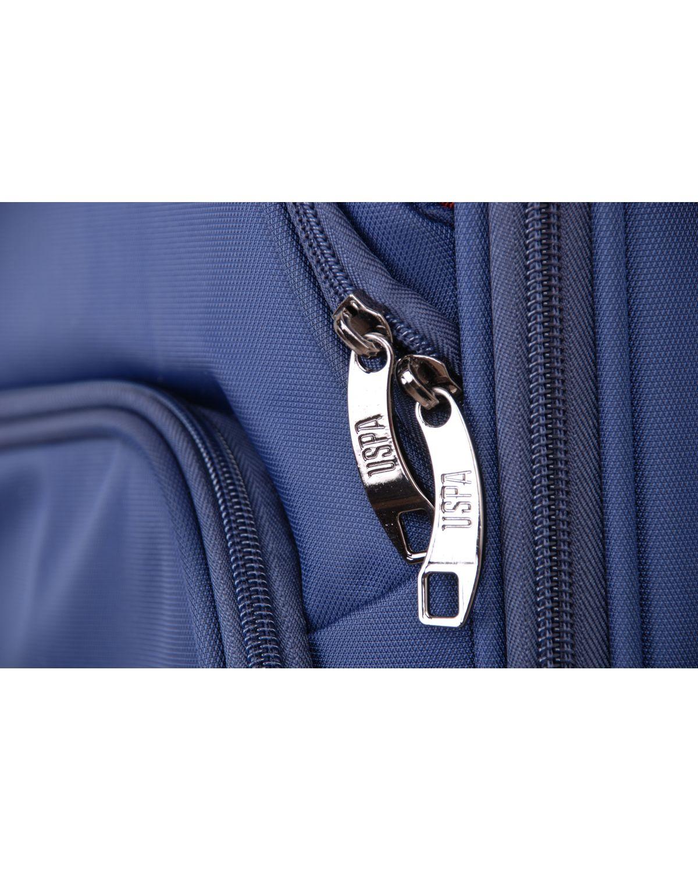Us Polo Assn Kırmızı Logolu Büyük Boy Valiz PLVLZ6008A Renkli