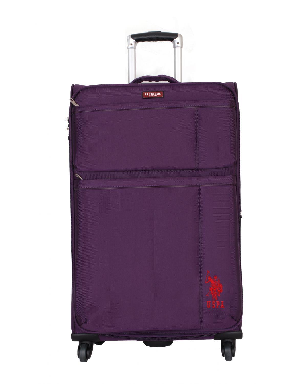 Us Polo Assn Kırmızı Logolu Büyük Boy Valiz PLVLZ6060A Renkli