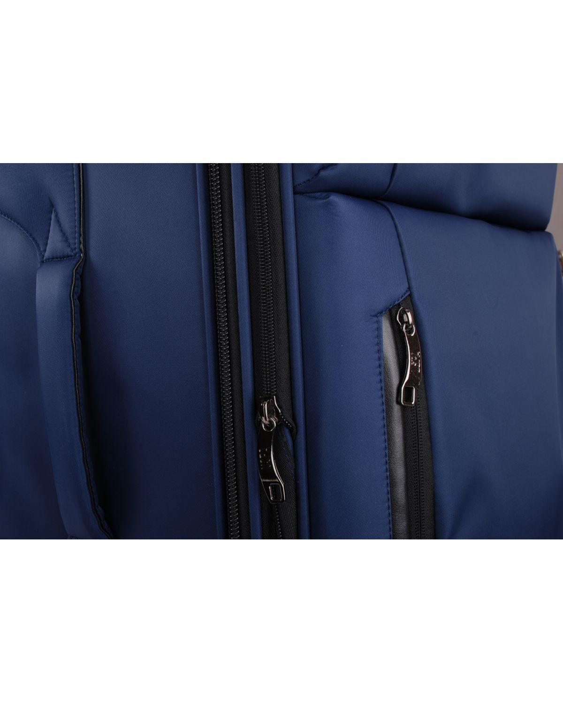 Us Polo Assn Siyah Armalı Büyük Boy Valiz PLVLZ6004A Renkli