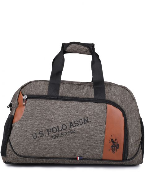 Us Polo Assn Duffle Orta Boy Seyahat Çantası PLDUF8371 Gri