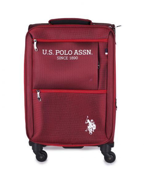 Us Polo Assn Kabin Boy Valiz PLVLZ9108C Bordo