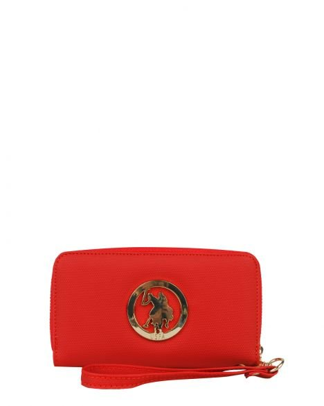 Us Polo Assn . Kadın El Portföyü USC21460 Kırmızı