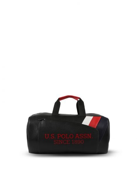 Us Polo Assn Ön Bölmeli Seyahat Çantası PLDUF9501 Siyah