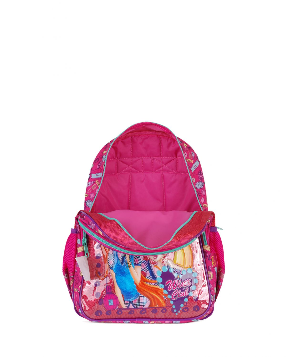Winx Club Flora-Stella-Bloom Sırt Çantası 63232 Pembe