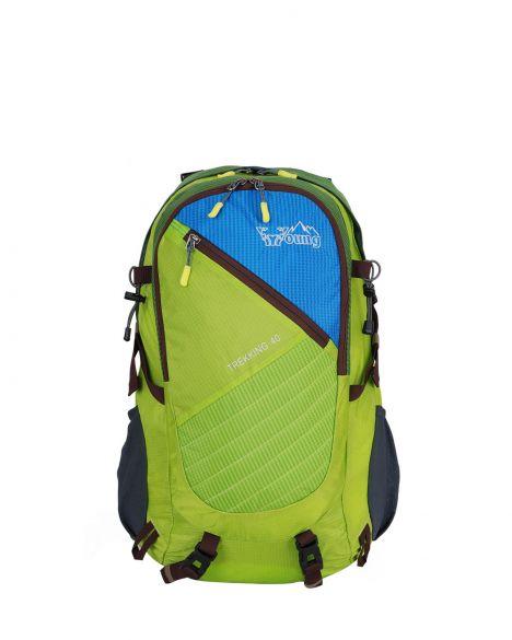 Young Trekking 40 Dağcı Sırt Çantası 40168 Green