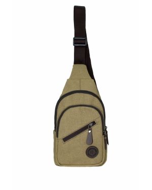 Cambridge Polo Club Ön Bölmeli Erkek Body Bag PLEVR50051 Taba