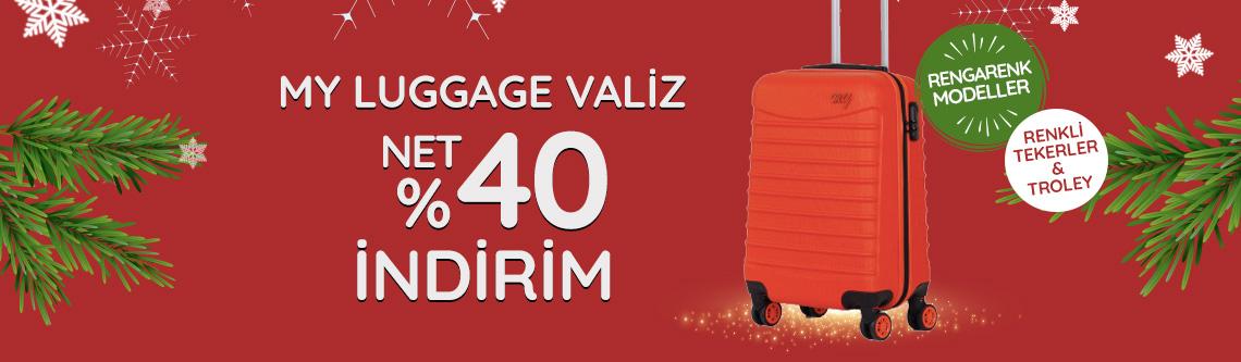 My Luggage Vazliler Net %40 indirimde