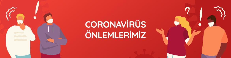 Coronavirus Onlemlerimiz