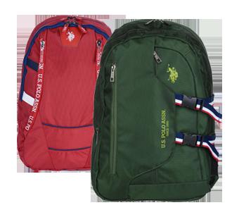 Kırmızı ve Yeşil US POLO ASSN Çanta